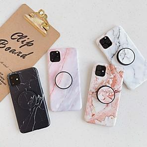 ieftine Breloc LED-carcasa pentru apple scene map iphone 11 11 pro 11 pro max x x x x x x max 8 model de marmură fină înghețată material tpu imd procedeu rabatabil carcasă pentru toate telefoanele mobile