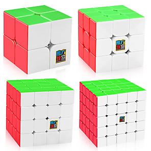 ieftine Cuburi Magice-4 piese Magic Cube IQ Cube MoYu Sudoku Cube Cubul de Sudoku 2*2*2 3*3*3 4*4*4 5*5*5 Cub Viteză lină Cuburi Magice puzzle cub Sticker transparent Stres și anxietate relief Clasic Copii Adulți Jucarii