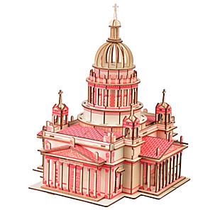 billige Øreringe-den Vasilij-katedralen 3d puslespil DIY legetøj for børn og voksne puslespil (39pcs)