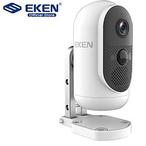 ieftine Camere IP-Eken Safety-Monitororargus Cameră cu baterii wifi 1080p wifi IP65 detecție mișcare rezistentă la intemperii ir camera de vizionare de noapte wireless IP