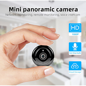 ieftine CCTV Cameras-sdeter hd 1080p wireless mini wifi camera securitate la domiciliu fără lumini camera IP cctv camera de supraveghere ir nocturn viziune în două sensuri mișcare audio detecta monitorul pentru copii p2p