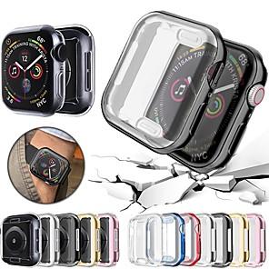 hesapli Smartwatch Kılıfları-Probefit 360 apple watch case 5 4 için yumuşak izle kapak yumuşak temizle tpu ekran koruyucu iwatch 4 3 44mm 40mm