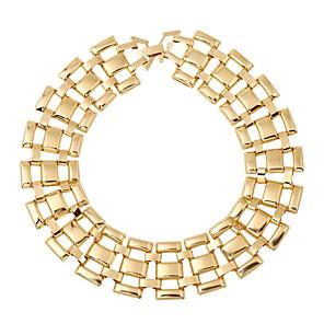 ieftine Colier la Modă-Pentru femei Coliere cu Pandativ Geometric Vertical Modă Crom Auriu 45 cm Coliere Bijuterii 1 buc Pentru Cadou Zilnic