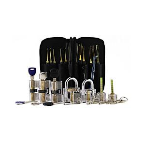 ieftine Lupe-set de instrumente de deblocare - blocare transparentă din 7 bucăți cu un singur cârlig de 24 buc