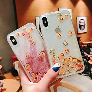 povoljno iPhone maske-Θήκη Za Apple iPhone 11 / iPhone 11 Pro / iPhone 11 Pro Max Otporno na trešnju / S tekućinom Stražnja maska Prozirno TPU