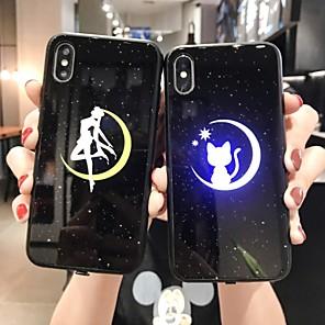 povoljno iPhone maske-futrola za Apple iphone 11 / iphone 11 pro / iphone 11 pro max otporna na udarce / led bljeskalicu / ogledalo otporno na prašinu / stražnji poklopac slatka crtana računala