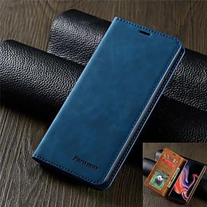 Недорогие Чехлы и кейсы для Galaxy J-роскошный кожаный чехол для samsung galaxy s20 s20 plus s20 ultra s10 s10e s10 plus s10 5g s9 s9 plus a51 a71 a10 a30 a30 a40 a50 a70 a70s a20e a50s a30s m10 forwenw кожаный чехол магнитный флип
