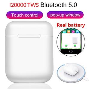 povoljno Pravi bežični uš-LITBest i20000 tws TWS True Bežične slušalice Bez žice EARBUD Bluetooth 5.0 Isključivanje buke Stereo Dvostruki upravljački programi
