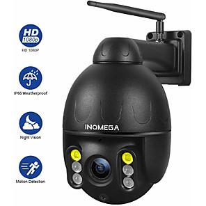 levne IP kamery-inqmega cloud 1080p ptz ip kamera wifi auto sledování 4x digitální zoom venkovní onvif vodotěsný mini speed dome kamera 2mp ir 30m p2p cctv bezpečnostní kamera