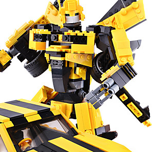cheap Stacking Blocks-Building Blocks 1 pcs Vehicles Robot compatible Legoing Transformable Focus Toy DIY Construction Truck Set All Toy Gift