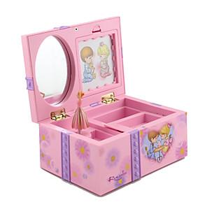 povoljno Kutija i prikaz nakita-Kutija za nakit - Roza, Svijetloljubičasta 17 cm 10 cm 8 cm / Žene