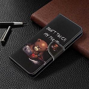 povoljno Maske/futrole za Galaxy S seriju-futrola za samsung galaxy s20 ultra / s20 plus / s10 plus novčanik / držač za karticu / s postoljem futrole za cijelo tijelo crtana pu kožna futrola za samsung s9 / s9 plus / s8 plus / s10e / s7 edge