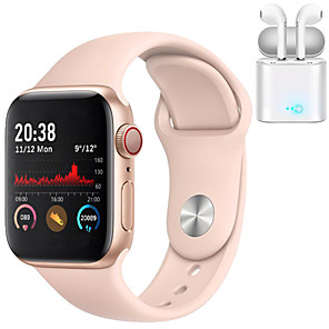 povoljno Pametni satovi-h55 smartwatch za telefone s jabukom / samsung / androidom, bluetooth fitness tracker podržava mjerenje broja otkucaja srca
