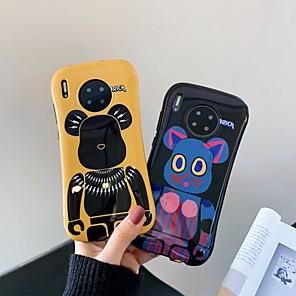 povoljno Maske/futrole za Huawei-Θήκη Za Huawei Huawei P20 / Huawei P20 Pro / Huawei P30 Otporno na trešnju Stražnja maska Crtani film TPU