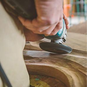 ieftine Testere & Detectoare-șlefuire unghi de lemn șlefuire sculptură sculă rotativă disc abraziv pentru polizor de unghi carbură de tungsten formă argint / arc circular