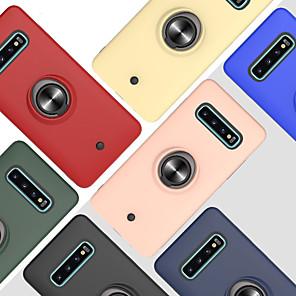 povoljno Maske/futrole za Galaxy S seriju-futrola za samsung galaxy s20 / s20 plus / s20 ultra 360 rotacija / otporna na udarce / držač prstena stražnji poklopac jednobojni tpu / pc za a50 (2019) / a40 (2019) / a30s (2019) / a51 / a71 / a10s