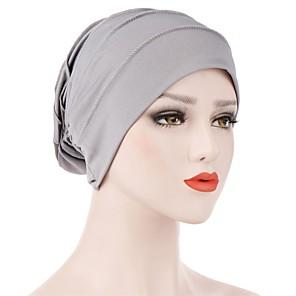 ieftine Pălării Femei-Pentru femei Mată Birou De Bază Cute Stil,Nailon Lycra-Floppy Primăvară Toamnă Mov Albastru piscină Roșu-aprins