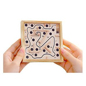 ieftine Recuzită de Magie-Labirintul din lemn Jocuri de masă Mingi De lemn Pentru copii Adulți Unisex Băieți Fete Jucarii Cadou