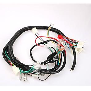 ieftine Părți Motociclete & ATV-ansamblu complet de cablu de țesătură de sârmă pentru cablaje de motoare moto 200 honda cg200