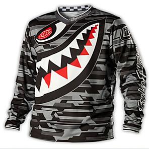 povoljno Odjeća za psa i dodaci-tld brzina predaja majica biciklističko odijelo kratki rukav top muški ljetni cross country motociklistički dres odijelo