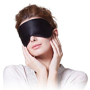 ieftine Confotul Călătoriei-Mască Dormit Călătorie Masca de somn Improving Sleep Odihnă Călătorie 1 piesă Voiaj Unisex Faux Silk