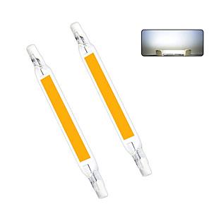 ieftine Becuri LED Bi-pin-1 buc 10 W Becuri LED Bi-pin 1000 lm R7S T 1 LED-uri de margele COB Alb Cald Alb Rece 220-240 V 110-130 V