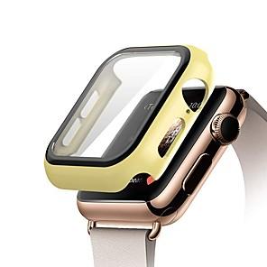 ieftine Audio & Video-ceas casetempered sticlă pentru Apple ceas 5 3 4 bandă iwatch 5 3 4 42mm 38mm protectie carcasa protectie bare de protecție applewatch 44mm 40mm