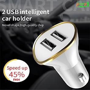 ieftine Încărcătoare Auto-FIXST 12-24 W Încărcător de Mașină Încărcător USB USB 2 Porturi USB 3.1 A / 2.5 A DC 12V-24V pentru