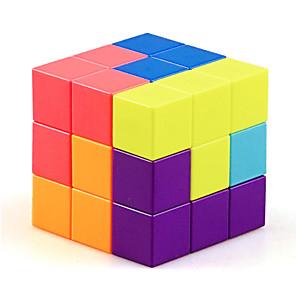 ieftine Cuburi Magice-1 PCS Magic Cube IQ Cube YongJun Sudoku Cube Cubul de Sudoku 3*3*3 Cub Viteză lină Cuburi Magice puzzle cub Sticker transparent Tipul magnetic Stres și anxietate relief Copii Adulți Jucarii Toate