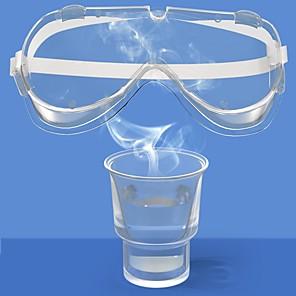 ieftine Produse de curățat-ochelari de siguranță ochelari de protecție a ochilor laborator de protecție împotriva prafului de ceață transparent pentru sport de iarnă ochelari de zăpadă gogle