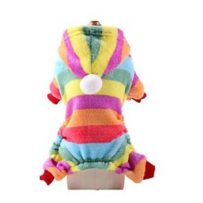 ieftine Imbracaminte & Accesorii Căței-Pisici Câine Haine Iarnă Îmbrăcăminte Câini Costume Catifea cord Nailon Bumbac XS S M L XL