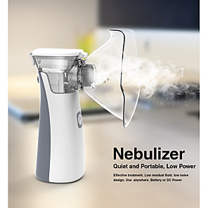 ieftine Îngrijire Unghii-nebulizator portabil mini nebulizator portabil inhalator pentru copii adult atomizator nebulizador echipament medical dispozitiv de aburire a astmului
