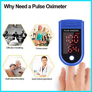 ieftine Testere & Detectoare-litbest cms50ld medical portabil deget puls oximetru oxigen frecvență cardiacă saturație contor oled oximetro de dedo saturometro monitor