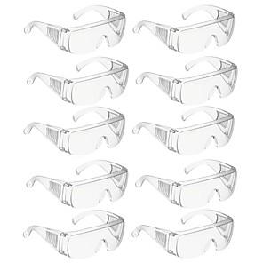 ieftine Produse de curățat-10 ochi ochelari de protecție a forței de muncă ochelari de protecție anti-impact anti-praf ochelari de protecție de siguranță