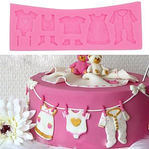 ieftine Ustensile & Gadget-uri de Copt-1 buc copii haine pantofi mucegai tort pentru coacere patiserie diy
