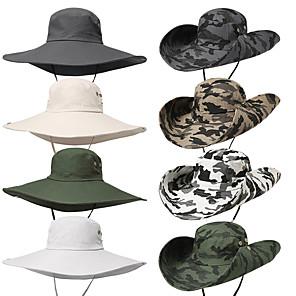 ieftine Cârlige Pescuit-Adulți Pălărie Găleată Pălăria pescăresc Pălării Primăvară, toamnă, iarnă, vară În aer liber Pescuit Bumbac Protecție UV la soare Siguranța de protecție Protectie personala Pălărie / Pentru femei