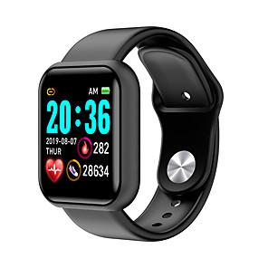povoljno Muški satovi-L18 Uniseks Smart Satovi Android iOS Bluetooth Vodootporno Heart Rate Monitor Mjerenje krvnog tlaka Udaljenost praćenje Informacija Brojač koraka Podsjetnik za pozive Mjerač aktivnosti Mjerač sna