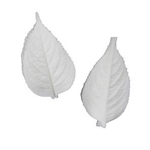 ieftine Ustensile & Gadget-uri de Copt-frunze mari de hortensie, cu două fețe, ștampilă, fondant tort, forme de silicon, instrumente de coacere acasă