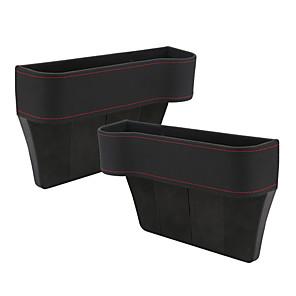 levne Organizátoři aut-1 pár pu sedadla štěrbina úložný box taška prostor úložný box místo kapsa na peněženku telefonní mince cigaretové klíče karty pro univerzální