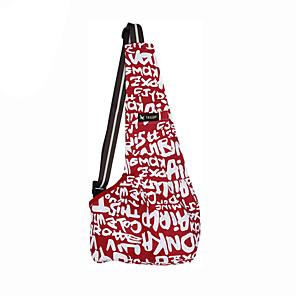 ieftine Ecrane Protecție Tabletă-Pisici Câine Portbagaje & rucsacuri de călătorie Rucsac din față Umăr Bag Genti de umar sling Portabil Animale de Companie  Caine mic Coșuri Material oxford Negru Dungi Roșu / alb