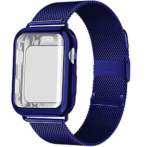 povoljno LED trakasta svjetla-Pogledajte Band za Apple Watch Series 5/4/3/2/1 Apple Preklopna metalna narukvica Nehrđajući čelik Traka za ruku