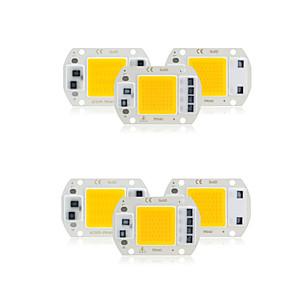저렴한 LED 제품-6 개 COB LED 칩 AC 220 볼트 30 와트 No Driver Smart IC LED Lamp Bulb 대 한 DIY 스포트라이트 홍수 조명