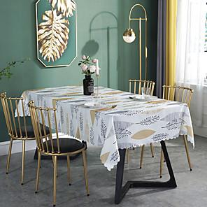 ieftine Fețe de masă-placemat fibre de poliester ecologic prietenos cu tabel floral decorativ contemporan tabel decorațiuni pentru petrecerea ceaiului adunare casă fermă rotundă 1 cm maro 1 buc