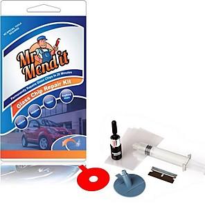 ieftine Stilou de Pictat Mașina-DIY masina de reparații parbrize set de instrumente de reparații de sticlă de parbriz setat pentru bullseye stele crăpături jumătate sau combinație fisuri