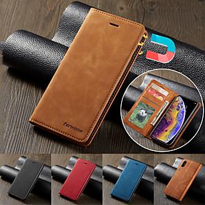 Недорогие Чехол Samsung-Роскошный кожаный магнитный флип-чехол для Samsung Galaxy A01 A11 A21 A31 A41 A51 A71 A81 A91 A10 A20 A30 A40 A50 A70 A30S A50S A70S A20E A7 2018 S20 S20 Plus S20 Ultra S10 S10E S10 Lite S10 Plus S10