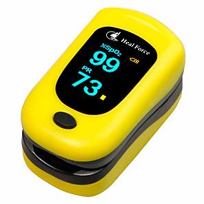 povoljno Krvni tlak-healforce pod-3 vrh prsta puls oksimetar krv kisik spo2 brzina pulsa bpm pi test (slučajna boja isporučena, baterije ne uključuju)