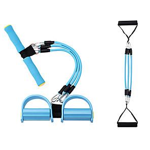 ieftine Accesorii Fitness-Banda de rezistență a pedalei Sit-up Pull Rope Expandator pentru culturism din latex natural 1 pcs Sport TPR Pilates Fitness Gimnastică antrenament Ajustabil Durabil Forța totală a corpului Pentru