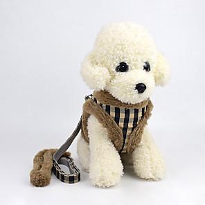 povoljno Odjeća za psa i dodaci-Pas Amovi Tekstil Braon