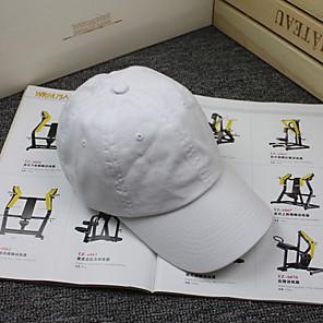 ieftine Pălării Femei-Pentru femei Mată De Bază,Bumbac-Șapcă Baseball Toate Sezoanele Roz Îmbujorat Roșu-aprins Portocaliu