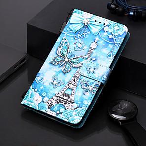 povoljno Samsung oprema-futrola za samsung galaxy s9 / s9 plus / s8 plus novčanik / držač za karticu / rhinestone koferi za cijelo tijelo leptir pu koža za galaxy s20 plus s20 ultra s20 a51 a71 a50 a40 a30 a20 a10s note10 j4